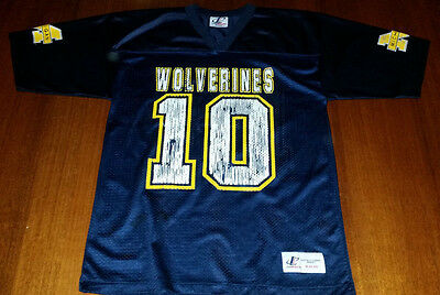 NFL Michigan Wolverines Size Medium Jersey
