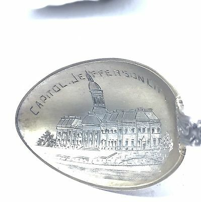 Vintage Sterling Watson CAPITOL JEFFERSON CITY  MO SOUVENIR SPOON  5 3/4""