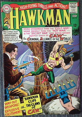 Hawkman #10 - Hawkman Clips the Wings of CAW! Very nice copy!!