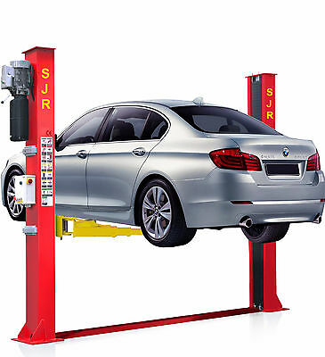 2 Post Car Van Lift 3670Mm Ramp 5.5T Electronic 3 Stage Arms H/d £1549 + Vat