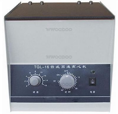 Benchtop Centrifuge With Rotor And Tubes High-Speed 16000Rpm Electric Tgl-16 B