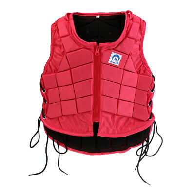 Kids Adult Safety Horse Riding Vest Equestrian Waistcoat Body Protector Guard