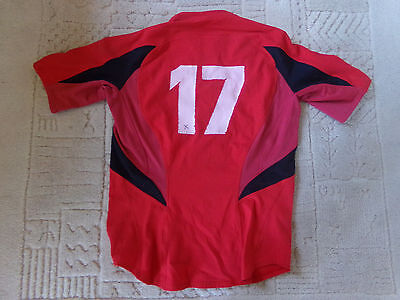 maillot match N°17 STADE TOULOUSAIN rugby taille XL