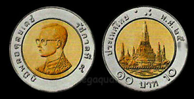 Thai Coin 10 Baht Very new Condition Free Shipping