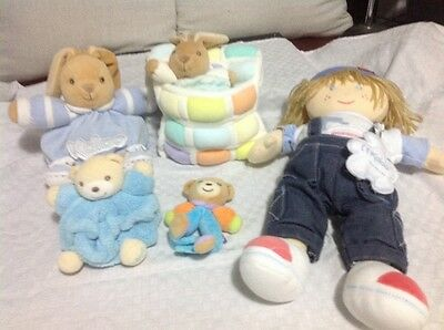Kaloo Boy Pack - 5 Items Good Condition Excellent Value - Beautiful