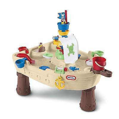 Little Tikes Water Table Sand Play Kids Pirate ship Outdoor Play Set