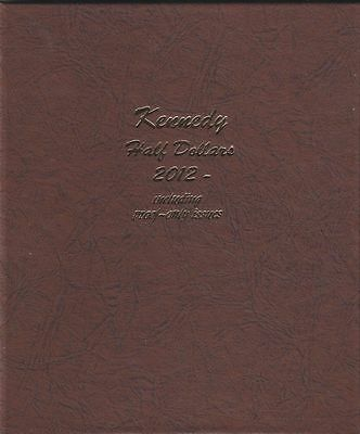 DANSCO Kennedy Half Dollars 2012-Date with Proofs Album #8167