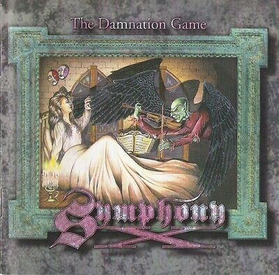 SYMPHONY X The Damnation Game 2012 UK 180g vinyl LP SEALED / NEW
