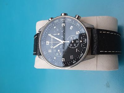 Mens large Lazard military chronograph Men's watch