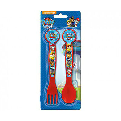 Paw Patrol Children's Knife and Fork Cutlery Set.