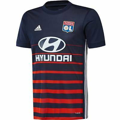 adidas Olympique Lyon Away Shirt 2017/18 - Mens