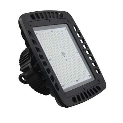 UFO 100W LED High Bay Light Dimmable UL cUL DLC 12500LM MEANWELL IP65 Warehouse