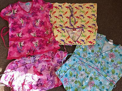 Lot Of 29 Pieces Of Scrubs Dickies, Peaches, Etc.
