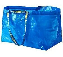 Large Ikea bag Frakta - 2 bags brand new - Ships from Canada