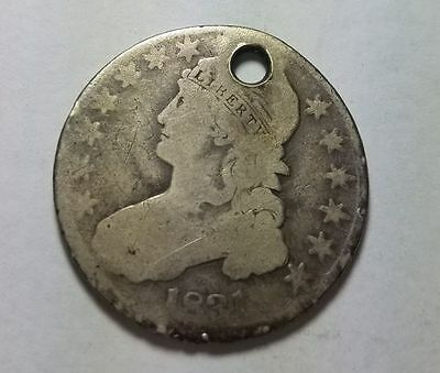 1831 United States Capped Bust Half Dollar Silver