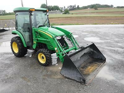 2011 John Deere 3720 Compact Tractor W/ JD 300CX Loader, Cab, AC/Heat, 1085 Hrs.