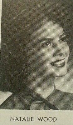 Natalie Wood Senior High School Yearbook 1955