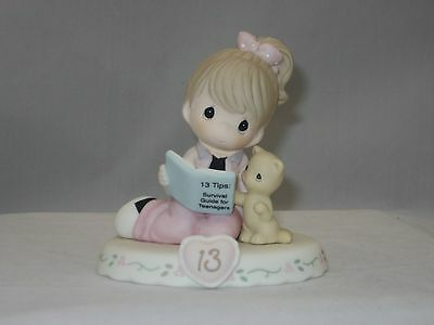 Precious Moments * Growing In Grace Age 13 Brunette 162012B NIB