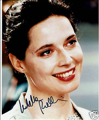 Isabella Rossellini Italian Actress Hand Signed Photograph 10 x 8