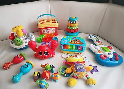 Large Bundle of Toddler Toys with One BRAND NEW