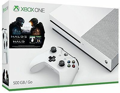 Xbox One S Halo Collection 500GB Console Bundle - New in Box