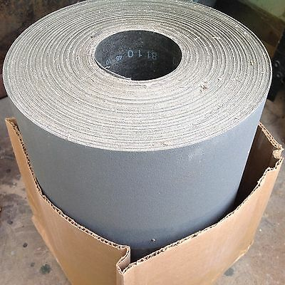 "12"" X 50 Yard 120 Grit SANDPAPER RESIN CLOTH ROLL BULK HARDWOOD REFINISHING"