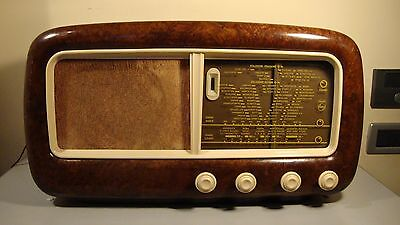 Radio d'epoca a valvole PHILIPS