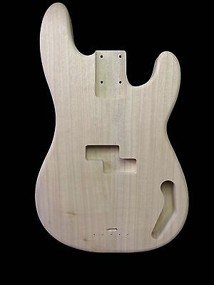 Bass Guitar Body/Precision/Korina/2pc/2.3kg/003579
