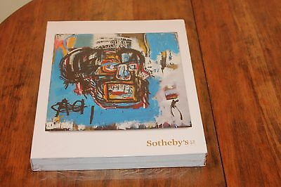 """JEAN-MICHEL BASQUIAT AUCTION CATALOG """"Untitled"""" from 1982,SOTHEBY'S CATALOG NEW"""