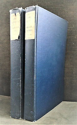 The Letters of William James edited by his son Henry James 2 Volumes 1920 1st Ed