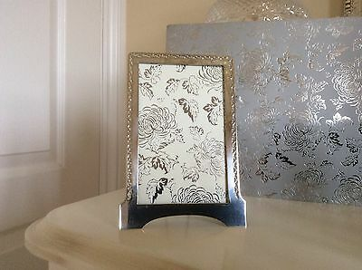 Antique Art Deco Silver Plated Photo Frame