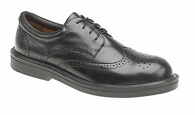 Himalayan 9810 S1P Size 7 Oxford Brogue Metal Free Composite Toe Safety Shoes