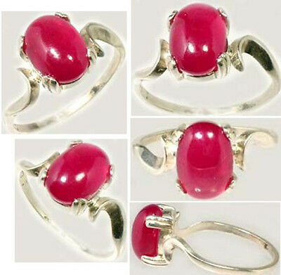 Ruby Ring 3 2/3ct Antique 18thC Medieval England Coronation Gem Wards off Danger