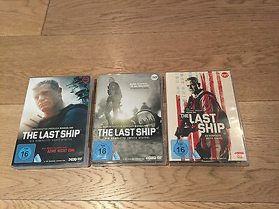 The Last Ship die komplette DVD Staffel 1 - 3