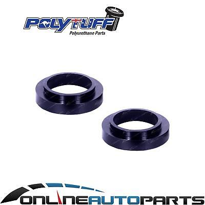 2 Rear Coil Spring 30mm Spacer Trim Packers Holden Jackaroo Wagon 4/1992-2004