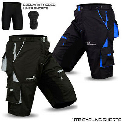 MTB Shorts Quick Dry Cycling Shorts Mountain Bicycle Bike Shorts With GEL Padded
