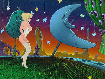COOL WORLD ANIMATION ART: ORIGINAL RALPH BAKSHI PRODUCTION CELS + Free Autograph