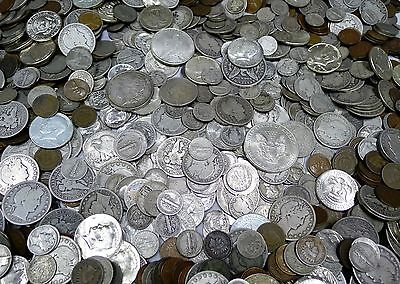 4 Coin Estate Lot! All Over 70 Years Old! Silver, Ancient, 1 Yr Issue, Indian!!!
