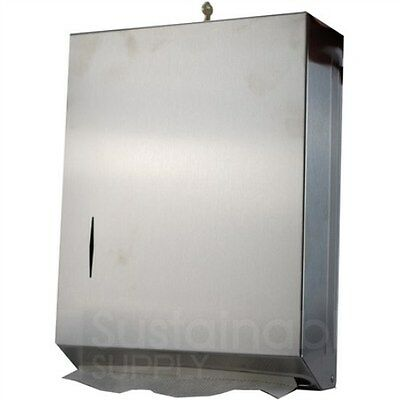New In Box Stainless Steel Paper Towel Dispenser - Bradley 250-150000
