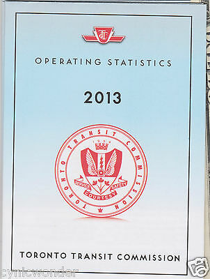 Toronto Subway System Info Operation TTC Detailed  Map 56Page Booklet Metro Rail