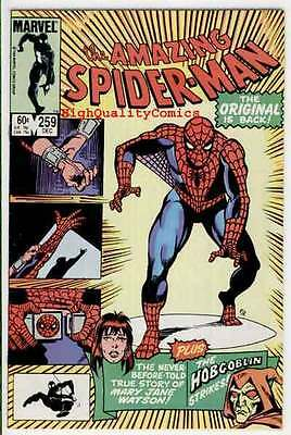 Amazing SPIDER-MAN #259, VF, HobGoblin, MJ Origin, 1963, more ASM in store