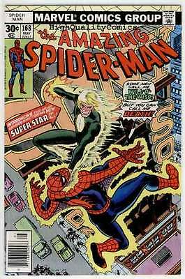 SPIDER-MAN #168, VF+/NM, Ross Andru, Len Wein, Amazing, 1963, Will-o'-The-Wi