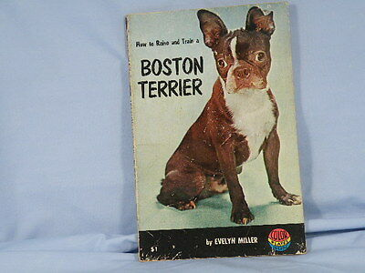 How To Raise And Train A Boston Terrier By Evelyn Miller Paperback