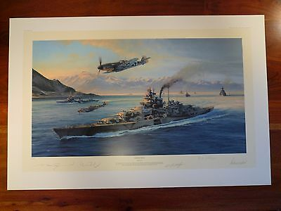 Knights Move Limited Edition (500) Print with 4 Signatures – Robert Taylor
