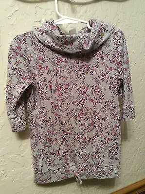 Toddler Girl Size 4T Old Navy Cowl Neck Top