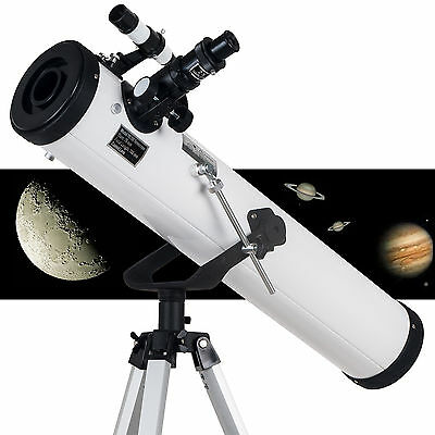 700x76mm Reflector Night Vision Astronomical Telescope AU