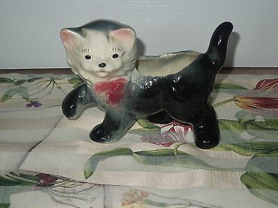 Adorable Vintage Kitty Cat Planter