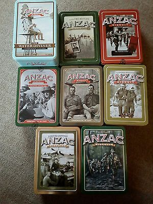 Collectable  Limited Edition Anzac Tin's