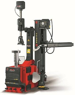 Made in Italy TC555SL Leverless Tyre Changer with arm, blaster kit optional lift