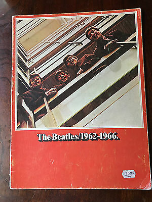 THE BEATLES - 1962 - 1966. Sheet Music Book